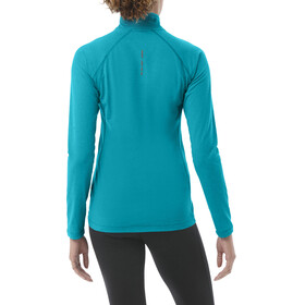 asics LS 1/2 Zip Jersey Women arctic aqua heather